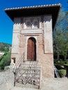 Alhambra Granada tower Royalty Free Stock Photo