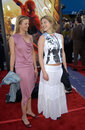 Ali larter amy smart actresses left at the los angeles premiere of spider man apr paul smith featureflash Royalty Free Stock Images