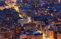 Alicante at night, Spain Stock Photos