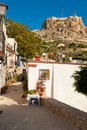 Alicante old town Royalty Free Stock Photo