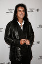 Alice cooper new york apr musician attends the super duper premiere during the tribeca film festival at chelsea bow Royalty Free Stock Photos