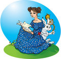 Alice`s adventures in Wonderland Royalty Free Stock Photo