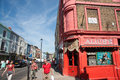 Alice's antique store on Portobello Road, London. Royalty Free Stock Photo