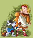 Alice And The White Rabbit. Ea...