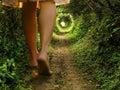 Alice in wonderland Stock Photography