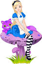 Alice in Wonderland Stock Images