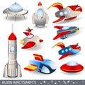 Alien aircraft