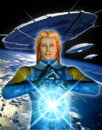 Alien ashtar sheran Stock Photo