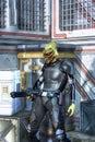Alien bounty hunter Royalty Free Stock Photo