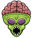 Alien cartoon vector illustration of Royalty Free Stock Image