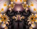 Alien Fractal Art Royalty Free Stock Photo