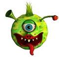 Alien love monster Royalty Free Stock Photo