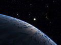 Alien world. Royalty Free Stock Photo