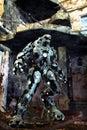 Alien robot Stock Photos