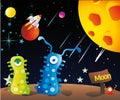 Aliens in the moon