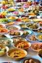 Alimento tailandés fritada del stir Imágenes de archivo libres de regalías