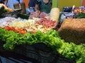 Alimento tailandés fritada del stir Imagen de archivo