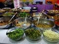 Alimento tailandés fritada del stir Foto de archivo