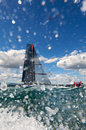 Alinghi 5 Royalty Free Stock Photo