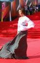 Alisa khazanova at moscow film festival actress xxxv international red carpet opening ceremony taken on in russia Stock Photo