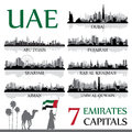 All the capital cities of the United Arab Emirates