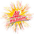 All_inclusive_star_hs Royalty Free Stock Photos