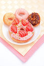 All kinds of delicious donut Royalty Free Stock Photography