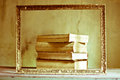Books to be framed Royalty Free Stock Photo