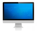 All-In-On PC- monitor Royalty Free Stock Image