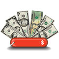 All Purpose Money Knife Design Royalty Free Stock Photo