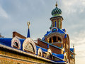 All religions temple in kazan russia Royalty Free Stock Image