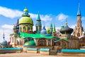 All religions temple in kazan russia tatarstan Royalty Free Stock Photo