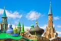 All religions temple in kazan russia tatrstan Stock Photography