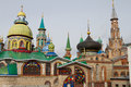 All religions temple in kazan russia view on Stock Image