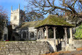 All saints church cathedral ainsty bolton percy in north yorkshire near york has the unofficial title the of the Royalty Free Stock Photography