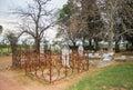 All Saints Church Cemetery at Dusk Royalty Free Stock Photo