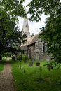 All saints church on the edge of grafham water circa Stock Photography