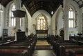 All saints church interior of of selworthy nr porlock somerset Stock Image
