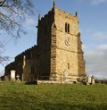 All Saints Church,(The Rambler's Church), Walesby, Royalty Free Stock Photos
