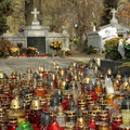 All Saints holiday in Poland Royalty Free Stock Photo