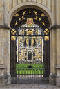 All souls college entrance gate oxford united kingdom uk Stock Images