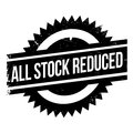 All Stock Reduced rubber stamp Royalty Free Stock Photo