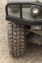 All Terrain Tire. Off-road vehicle Royalty Free Stock Photo