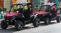 All-terrain vehicle. Royalty Free Stock Photo
