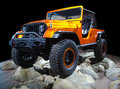 All Wheel Drive Off Road Car Royalty Free Stock Photo