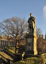 Allan Ramsay Statue Stock Photos