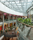 Allee shopping mall, Budapest Stock Photos