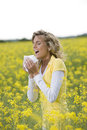 Allergy Season Royalty Free Stock Photos