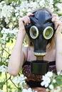 Allergy to pollen Royalty Free Stock Photo
