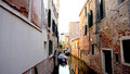 Alley And Canal With Ancient A...